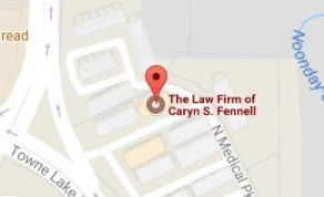 Map of The Law Firm of Caryn S. Fennell