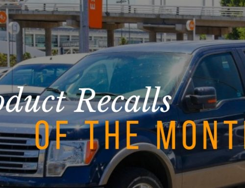 September Product Recalls of the Month